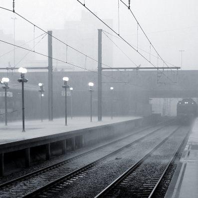 La lluvia, ese gran enemigo de Renfe [foto: Cleide Isabel]