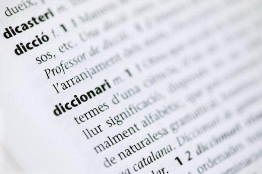 Egocentrisme: el diccionari parlant d'ell mateix. (font)