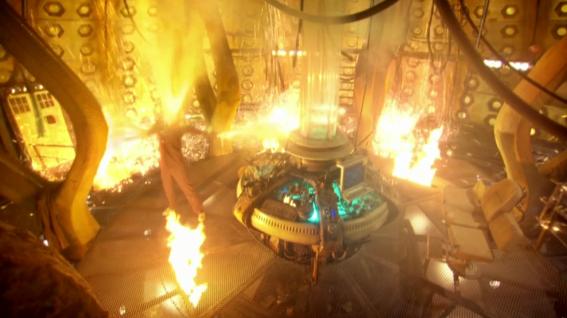 De vegades el canvi és inevitable. (Doctor Who)
