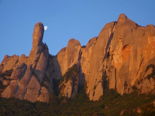 A Montserrat molts escalen el Cavall Bernat; bonic eufemisme per a carall trempat. (foto: Eduard Garcia)