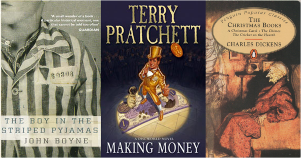 Història, humor i Nadal segons Boyne, Pratchett i Dickens