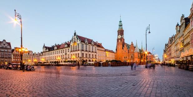 Plaça del mercat de Breslau [foto: Maciek Lulko]