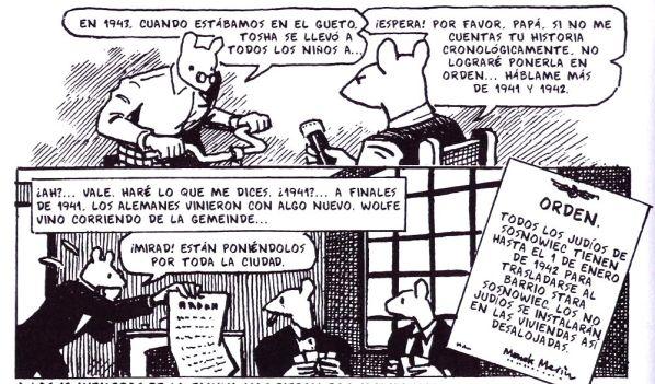 Pequeña muestra de la estética del cómic