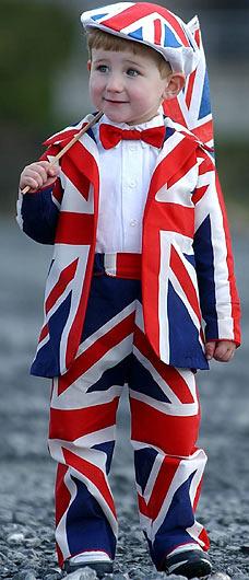 Una imagen adorable para una entrada sobre el inglés [foto: Daily Mail Online]