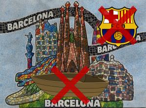 Se llama solamente Barcelona, BCN o Barna