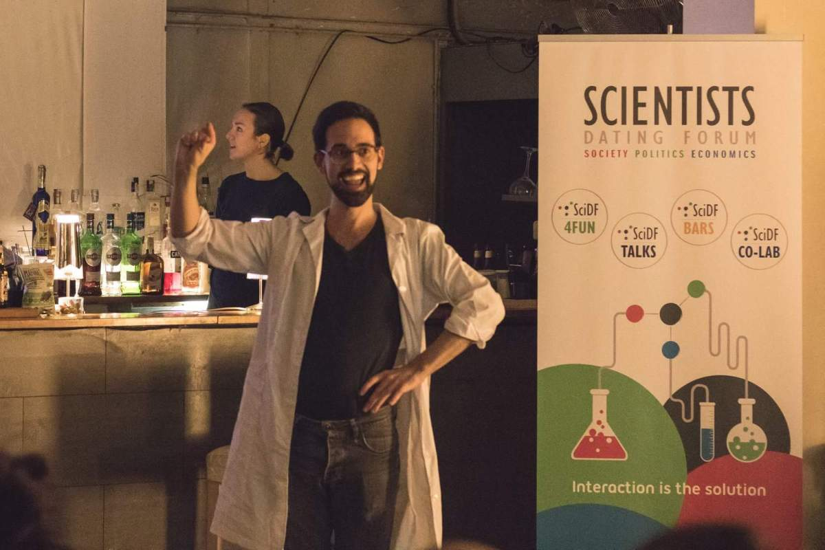 'After-lab with Science Comedy'